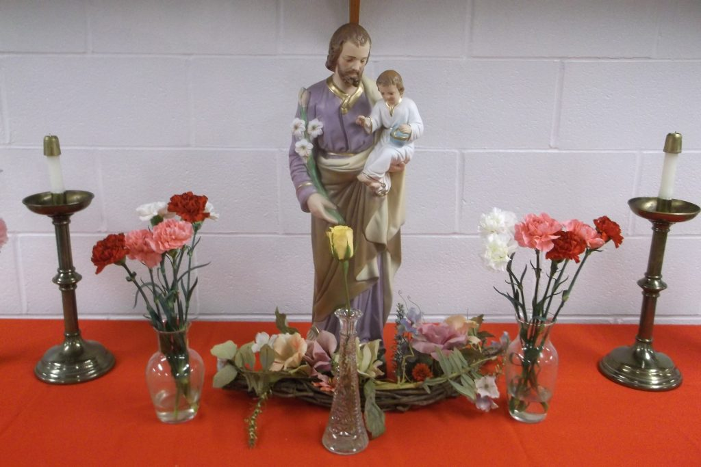 Mater Dei Academy Celebrated the Solemnity of Saint Joseph on March 19th